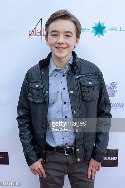 Actor Benjamin Stockham arrives for the Breaking The Chains Foundation And Glitter Magazine First Annual Fall Reception at a private residence on...
