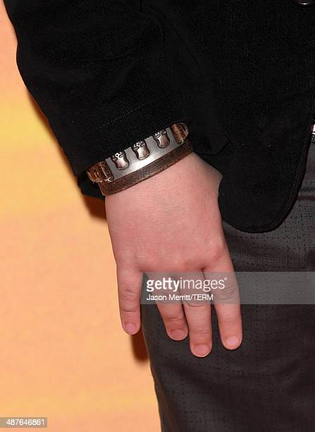 Actor Benjamin Stockham attends the 2014 iHeartRadio Music Awards held at The Shrine Auditorium on May 1 2014 in Los Angeles California iHeartRadio...