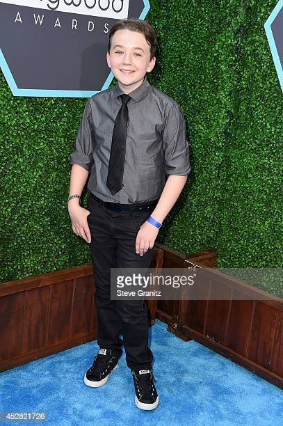 Actor Benjamin Stockham attends the 2014 Young Hollywood Awards held at The Wiltern on July 27 2014 in Los Angeles California