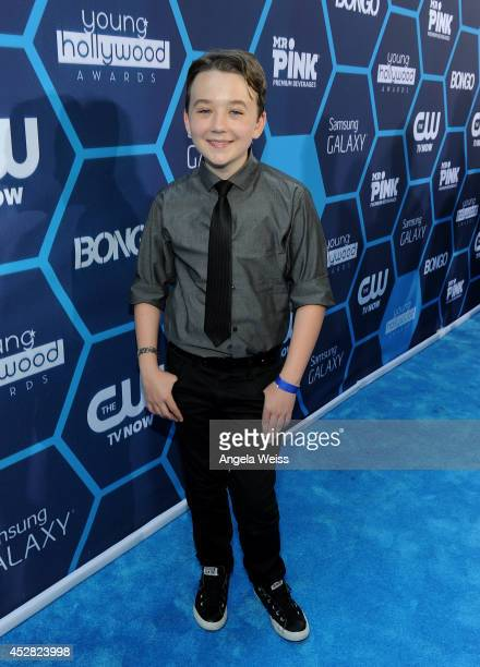 Actor Benjamin Stockham attends the 2014 Young Hollywood Awards brought to you by Samsung Galaxy at The Wiltern on July 27 2014 in Los Angeles...