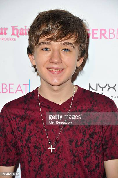 Actor Benjamin Stockham attends Tiger Beat's PreParty around FOX's Teen Choice Awards at HYDE Sunset Kitchen Cocktails on July 28 2016 in West...
