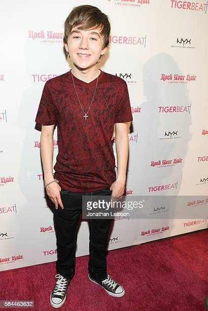 Actor Benjamin Stockham attends TigerBeat's Official Teen Choice Awards PreParty Sponsored by NYX Professional Makeup and Rock Your Hair at HYDE...