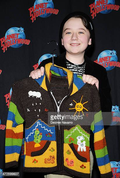 Actor Benjamin Stockham visits Planet Hollywood Times Square on February 21 2014 in New York City