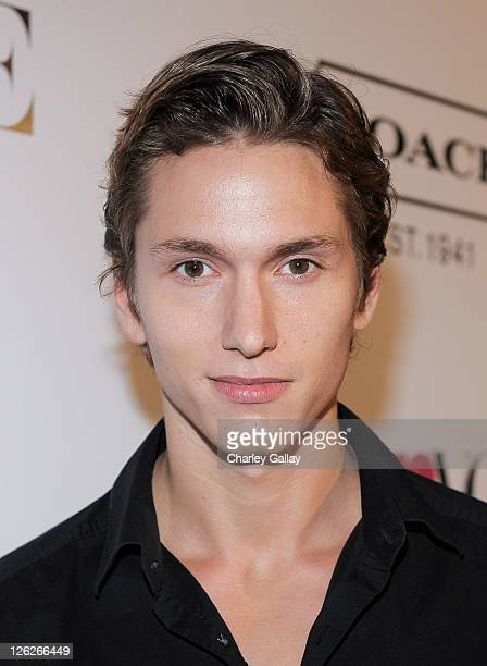 Actor Benjamin Stone attends the Ninth Annual Teen Vogue Young Hollywood Party at Paramount Studios on September 23 2011 in Hollywood California