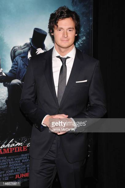 Actor Benjamin Walker attends the Abraham Lincoln Vampire Slayer 3D New York Premiere at AMC Loews Lincoln Square 13 theater on June 18 2012 in New...