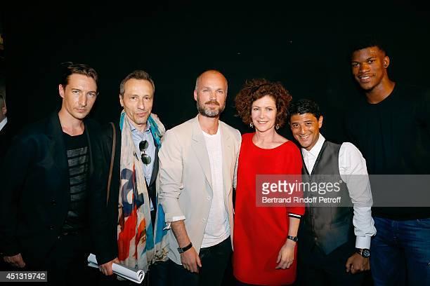 Actor Benn Northover actor Michael Wincott Fashion Designer Aldo Maria Camillo Cerruti CEO Catherine Vautrin actor Said Taghmaoui and NBA player...