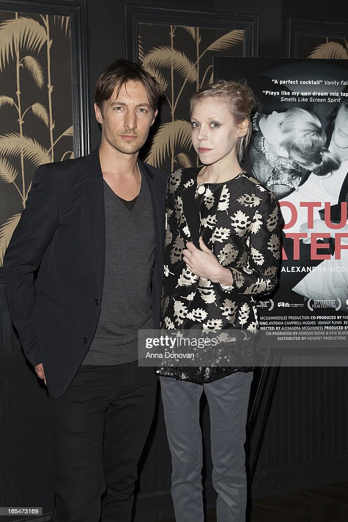 Actor Benn Northover and actress/model Antonia Campbell-Hughes attend 'Lotus Eaters' New York Premiere at No. 8 on April 3, 2013 in New York City.