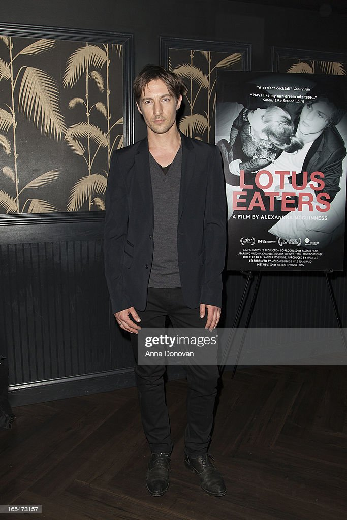 Actor Benn Northover attends 'Lotus Eaters' New York Premiere at No. 8 on April 3, 2013 in New York City.