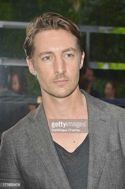Actor Benn Northover attends the Berluti Menswear Spring/Summer 2014 show as part of the Paris Fashion Week on June 28 2013 in Paris France