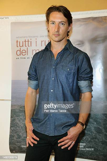Actor Benn Northover attends Tutti i rumori del mare photocall at AnteoSpazioCinema on July 25 2012 in Milan Italy