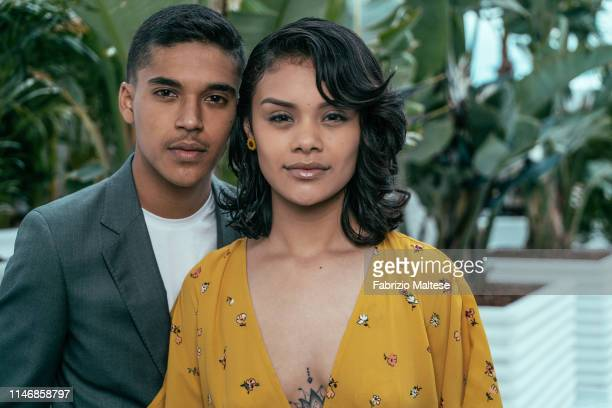 Actor Benny Emmanuel actress Leidi Gutierrez pose for a portrait on May 21 2019 in Cannes France