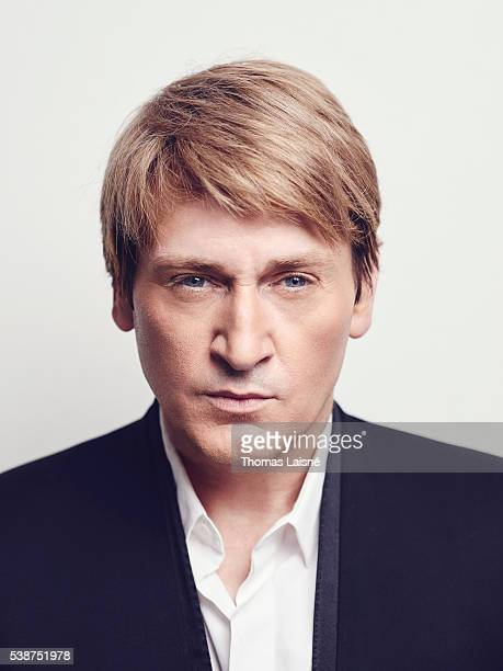 Actor Benoit Magimel is photographed for Self Assignment on May 1 2016 in Paris France