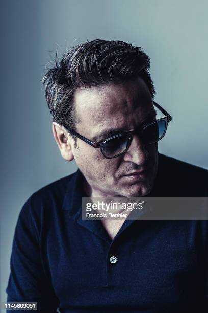 Actor Benoit Magimel poses for a portrait on May 20 2019 in Cannes France