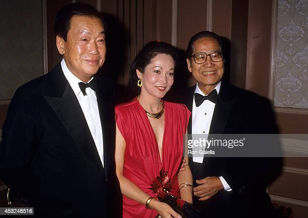 Actor Benson Fong actress Nancy Kwan and actor Keye Luke attend the Third Annual Association of Asian/Pacific American Artists' Media Awards on March...
