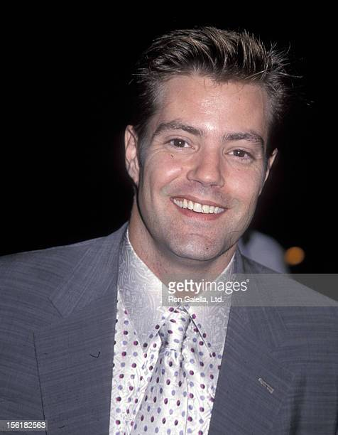 Actor Bentley Mitchum attends 'The Messenger The Story of Joan of Arc' Beverly Hills Premiere on October 18 1999 at Academy of Motion Picture Arts...