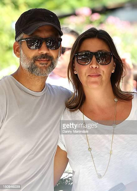 Actor Beppe Fiorello and Eleonora Pratelli attend the 69th Venice Film Festival on August 29, 2012 in Venice, Italy.