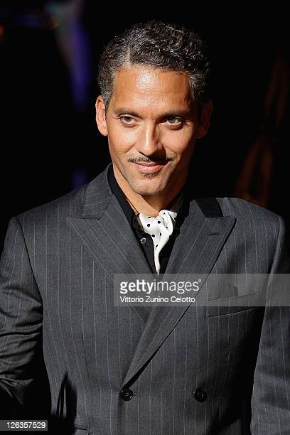 Actor Beppe Fiorello attend the Dolce Gabbana Spring/Summer 2012 fashion show as part Milan Womenswear Fashion Week on September 25 2011 in Milan...