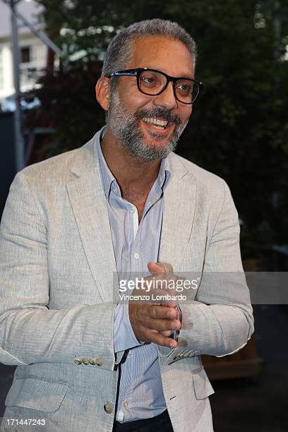 Actor Beppe Fiorello attends the RAI 2013 Programming Presentation on June 24 2013 in Milan Italy