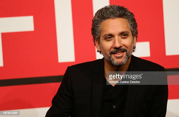 Actor Beppe Fiorello attends the 'Se Chiudo Gli occhi Non Sono Piu Qui' Photocall during the 8th Rome Film Festival at the Auditorium Parco Della...