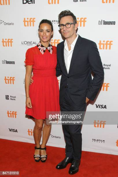 Actor Berenice Bejo and director Michel Hazanavicius attend the 'Redoubtable' Premiere held at The Elgin during the 2017 Toronto International Film...