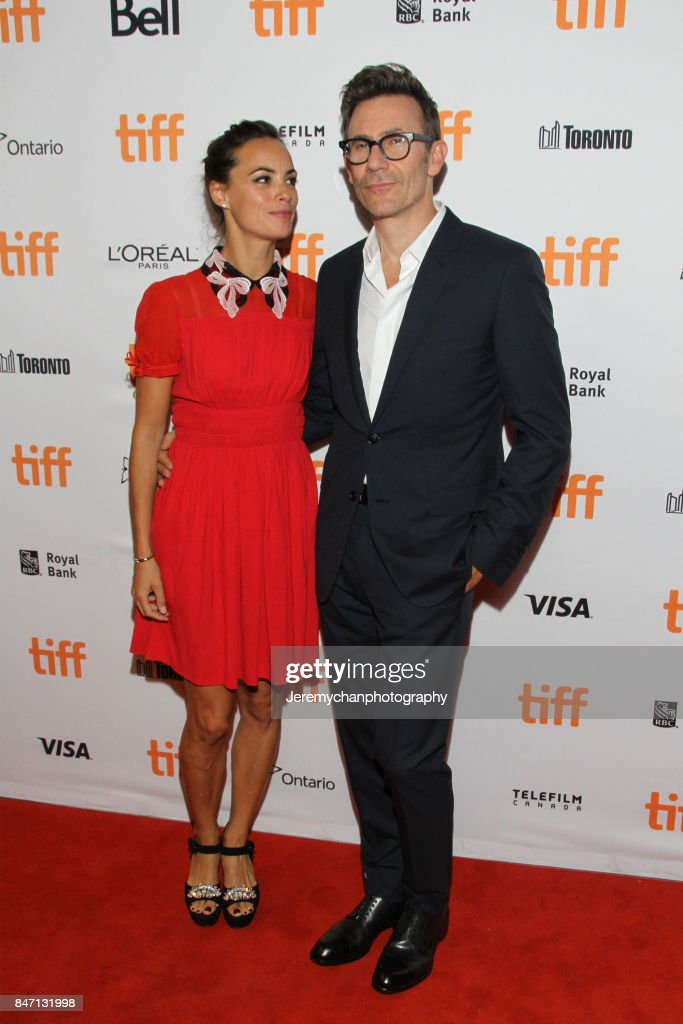 Actor Berenice Bejo and director Michel Hazanavicius attend the 'Redoubtable' Premiere held at The Elgin during the 2017 Toronto International Film Festival on September 14, 2017 in Toronto, Canada.