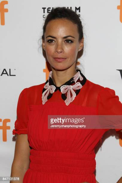 Actor Berenice Bejo attends the 'Redoubtable' Premiere held at The Elgin during the 2017 Toronto International Film Festival on September 14 2017 in...
