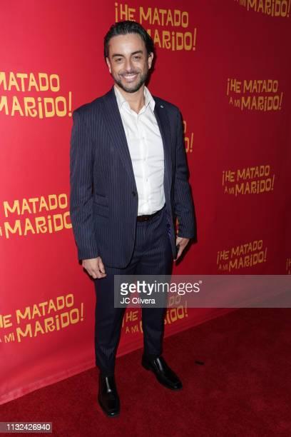 Actor Bernard Bullen attends 'HE MATADO A MI MARIDO' Los Angeles Premiere at Harmony Gold Theatre on February 26 2019 in Los Angeles California