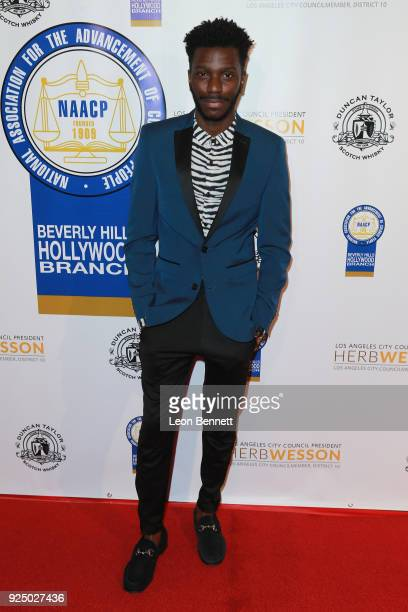 Actor Bernard David Jones attends the 27th Annual NAACP Theatre Awards at Millennium Biltmore Hotel on February 26 2018 in Los Angeles California