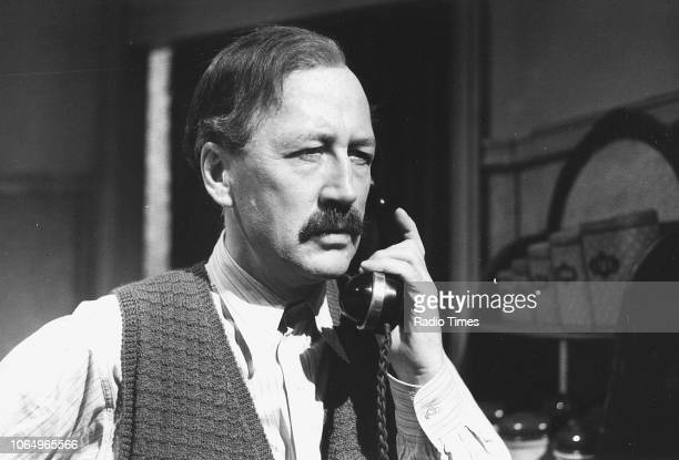 Actor Bernard Hepton in a scene from episode 'Sergeant on the Run' of the television series 'Secret Army' June 17th 1977