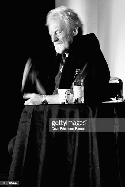 Actor Bernard Hill is seen at The Fellowship Festival 2004 aimed at J R R Tolkien fans at Alexandra Palace on August 28 2004 in London The Lord of...