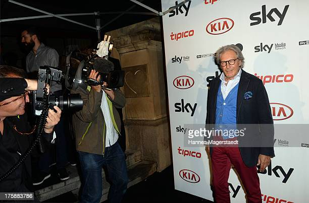 Actor Bernd Herzsprung attends the Sky Bundesliga Season Opening Party at Heart on August 9 2013 in Munich Germany