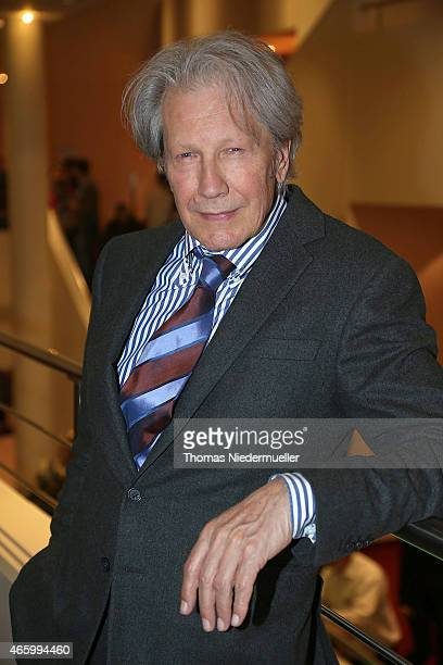 Actor Bernd Herzsprung poses at the break during the Tarzan musical charity event at Stage Apollo Theater on March 12 2015 in Stuttgart Germany