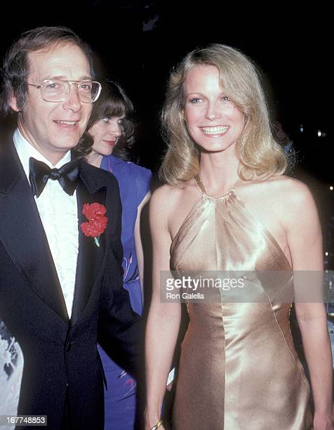 Actor Bernie Kopell and actress Shelley Hack attends 'The Love Boat' Honors Helen Hayes on February 22 1980 at the Beverly Hills Hotel in Beverly...