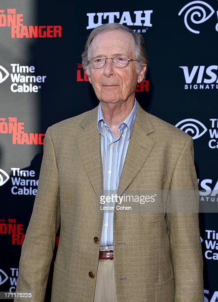 Actor Bernie Kopell arrives at Disney's The Lone Ranger World Premiere at Disney's California Adventure on June 22 2013 in Anaheim California