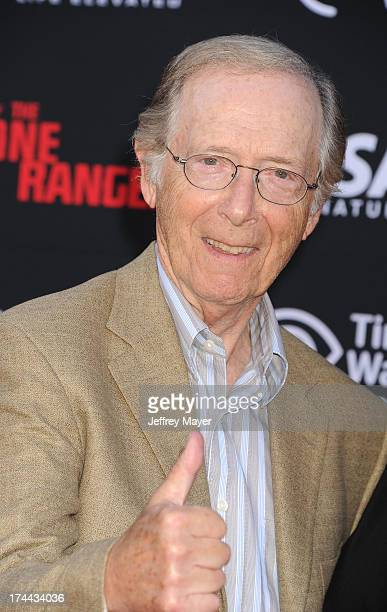 Actor Bernie Kopell arrives at 'The Lone Ranger' World Premiere at Disney's California Adventure on June 22 2013 in Anaheim California