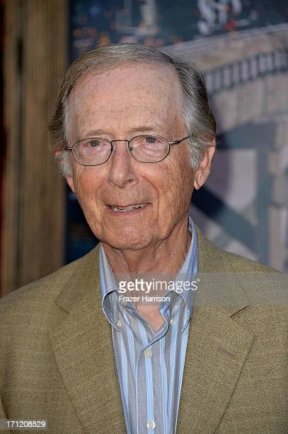 Actor Bernie Kopell arrives at the premiere of Walt Disney Pictures' 'The Lone Ranger' at Disney California Adventure Park on June 22 2013 in Anaheim...