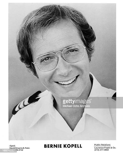Actor Bernie Kopell poses for a portrait as Doctor Adam Bricker in Love Boat circa 1979