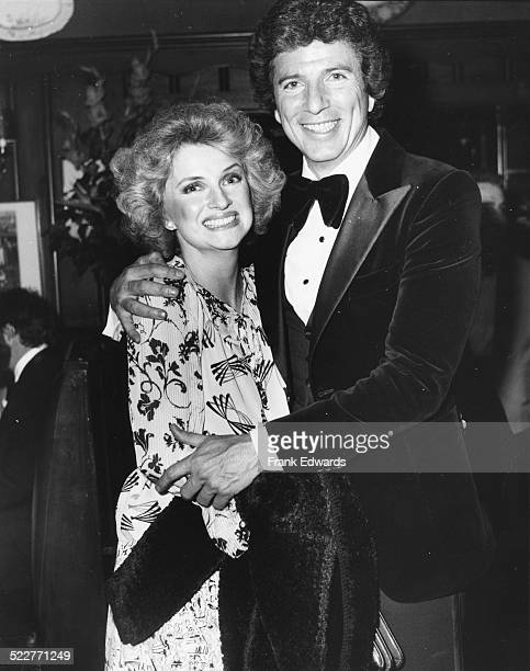 Actor Bert Convy and his wife Ann attending the People's Choice Awards Los Angeles February 1978