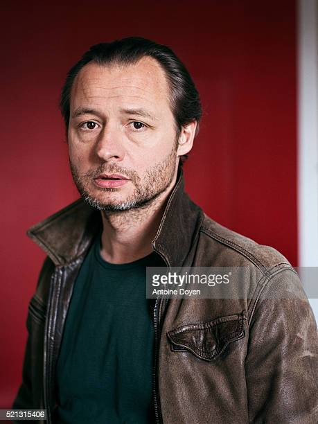 Actor Bertrand Constant is photographed for Self Assignment on April 1 2016 in Paris France
