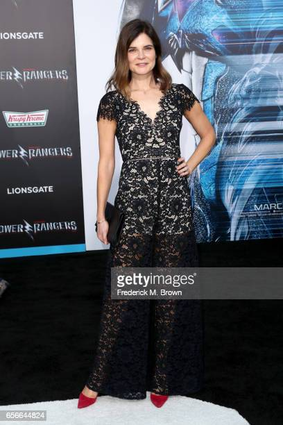 Actor Betsy Brandt at the premiere of Lionsgate's 'Power Rangers' on March 22 2017 in Westwood California