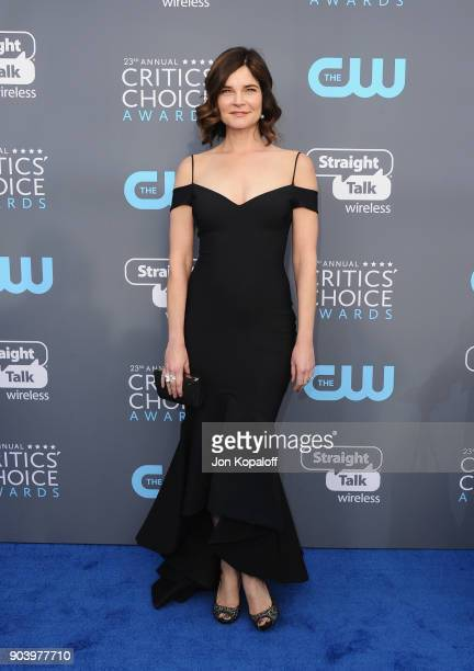 Actor Betsy Brandt attends The 23rd Annual Critics' Choice Awards at Barker Hangar on January 11 2018 in Santa Monica California