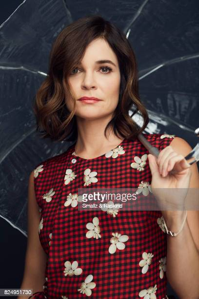 Actor Betsy Brandt of Lifetime's 'Flint' poses for a portrait during the 2017 Summer Television Critics Association Press Tour at The Beverly Hilton...