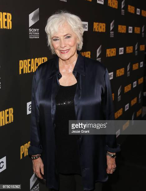 Actor Betty Buckley attends the premiere of AMC's 'Preacher' Season 3 on June 14 2018 in Los Angeles California