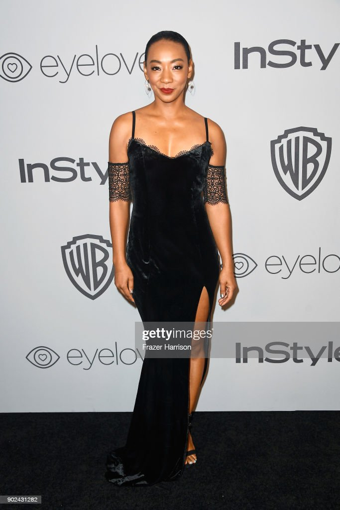 Actor Betty Gabriel attends 19th Annual Post-Golden Globes Party hosted by Warner Bros. Pictures and InStyle at The Beverly Hilton Hotel on January 7, 2018 in Beverly Hills, California.