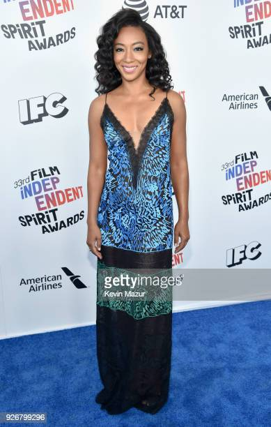Actor Betty Gabriel attends the 2018 Film Independent Spirit Awards on March 3 2018 in Santa Monica California