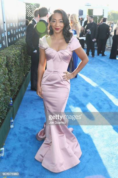Actor Betty Gabriel attends the 23rd Annual Critics' Choice Awards on January 11 2018 in Santa Monica California