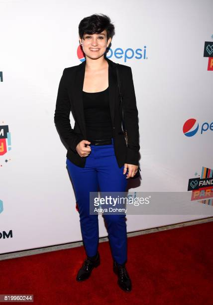 Actor Bex TaylorKlaus at FANDOM's Annual ComicCon KickOff Party at Float at Hard Rock Hotel San Diego on July 20 2017 in San Diego California