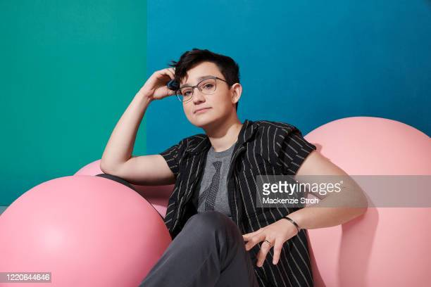 Actor Bex Taylor-Klaus is photographed for Entertainment Weekly Magazine on February 27, 2020 at Savannah College of Art and Design in Savannah,...