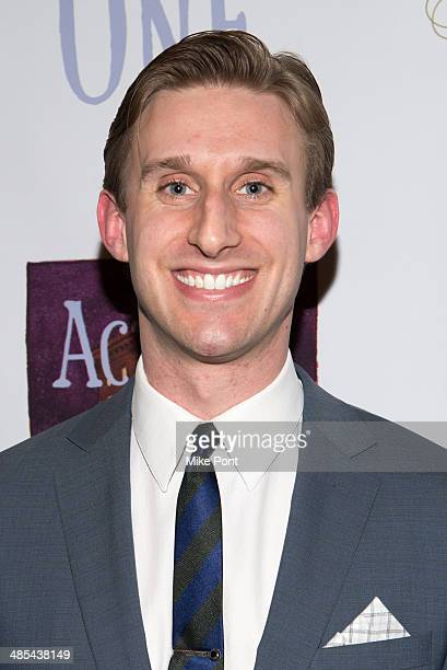 Actor Bill Army attends the opening night party for Act One at The Plaza Hotel on April 17 2014 in New York City