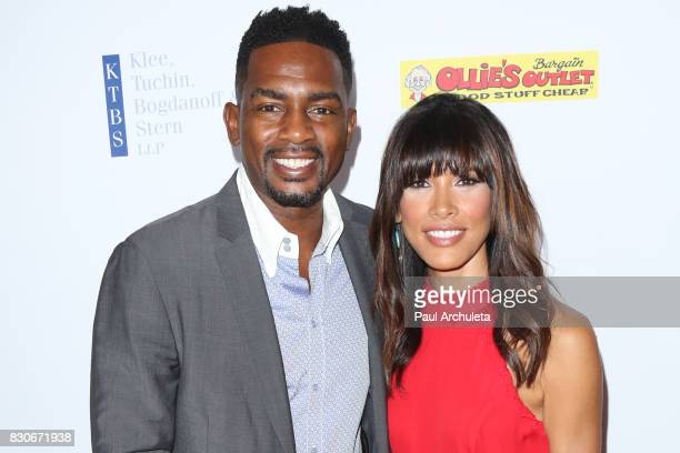 Actor Bill Bellamy and his Wife Kristen Baker Bellamy attend the 17th Annual Harold Carole Pump Foundation Gala at The Beverly Hilton Hotel on August...
